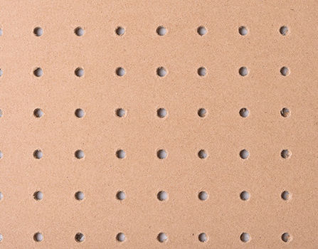 Lion Perforated Hardboard - PEFC™ Certified Perforated Hardboard