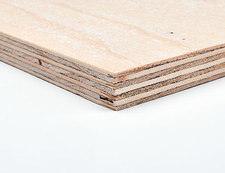 PEFC™ Certified Firesure Premium Softwood Plywood Euroclass B Structural CE1 Durable INT2 - WISA Spruce Coated With ProStructFR
