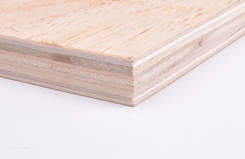 Meyer Trade Pine Faced Poplar Core Softwood Plywood C+ C CE4 - EN314-2 Class 1. EN636-1. E1