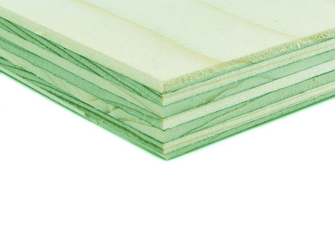 PEFC™ Certified WISA Spruce Special Grade Osmose AC500 Softwood Plywood CE2+ - EN314-2 Class 3. EN636-2. E1